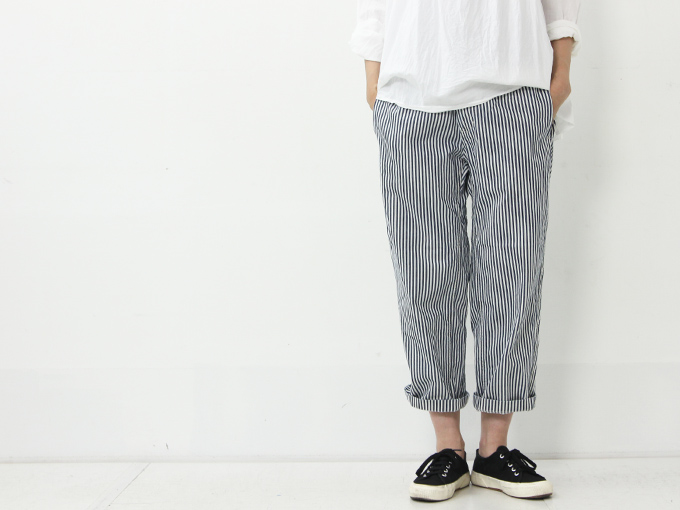 Ordinary Fits (オーディナリーフィッツ) FRENCH CROPPED PANTS HICKORY