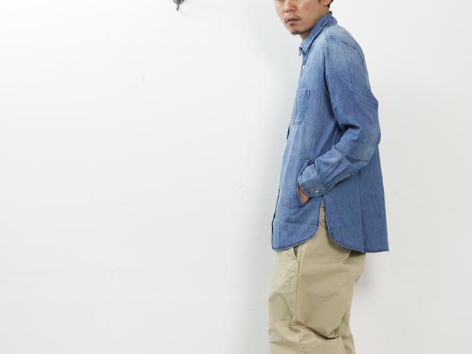 ONES STROKE(ワンズストローク) Denim Long Shirt