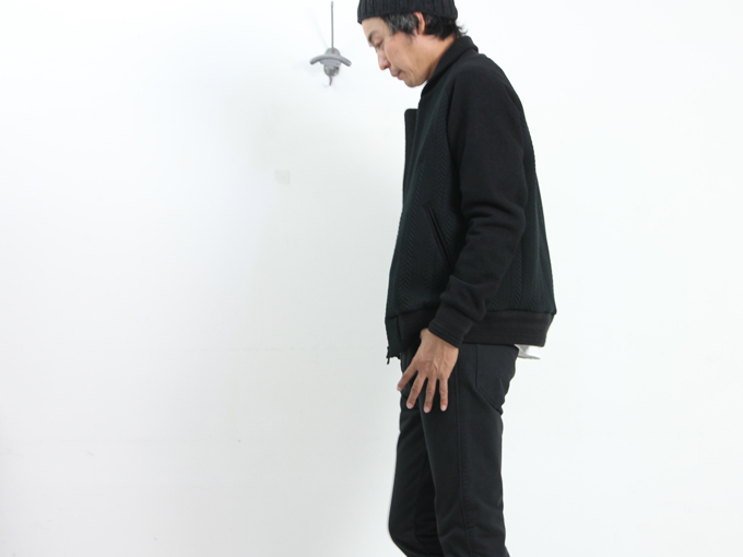 CURLY(カーリー) CONFUSED BOMBER JACKET