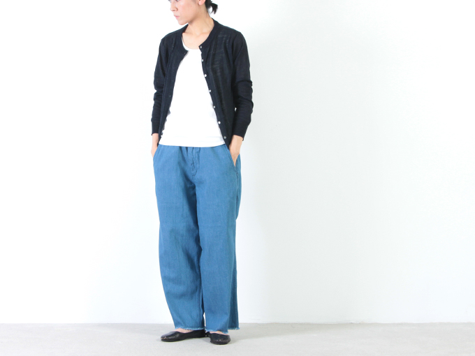 MASTER & Co.(マスターアンドコー) CUT OFF DENIM PANTS