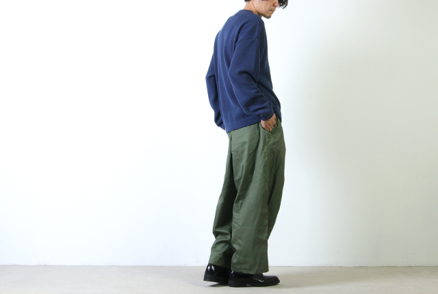 crepuscule (クレプスキュール) moss stitch pullover