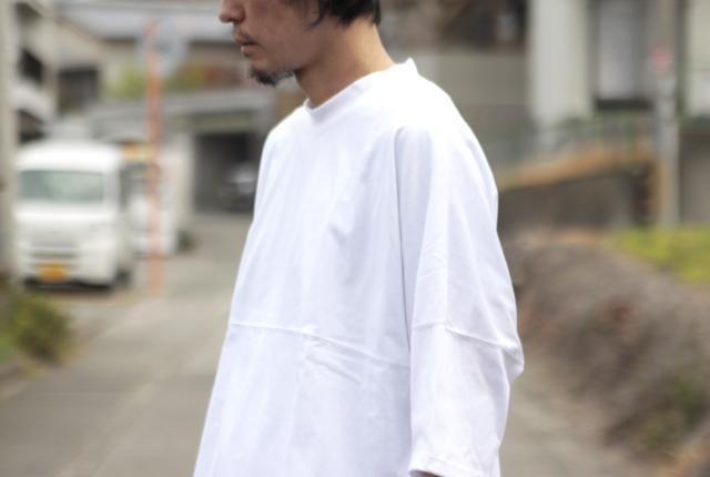 is-ness(イズネス) AMERICAN VITAGEFABRIC DOLMAN SLEEVE T-SHIRT
