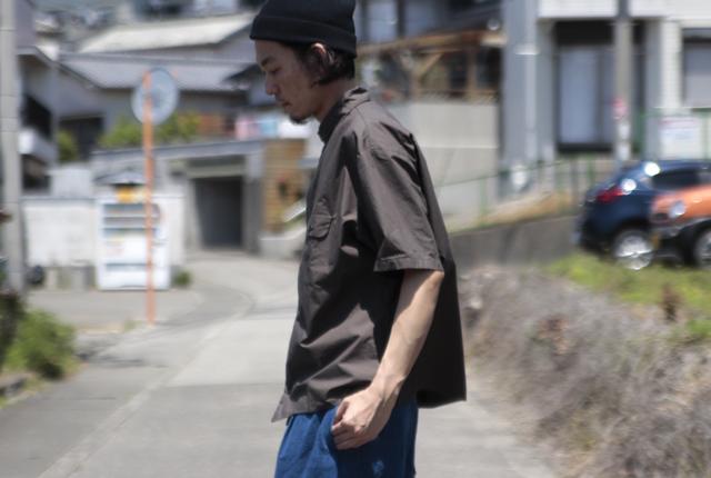 LOLO (ロロ) ステッチなし半袖シャツ