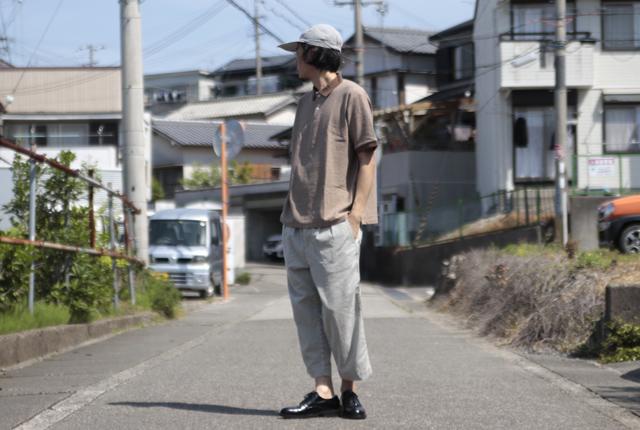 YAECA(ヤエカ) POLO SHIRTS