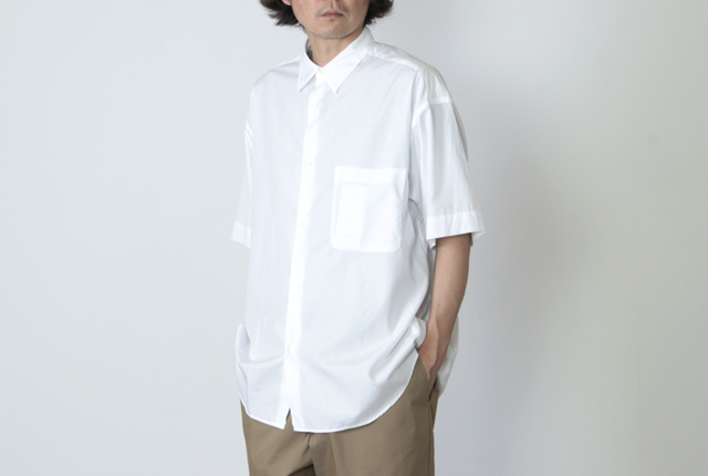 Graphpaper (グラフペーパー) Broad Oversized S/S Shirt