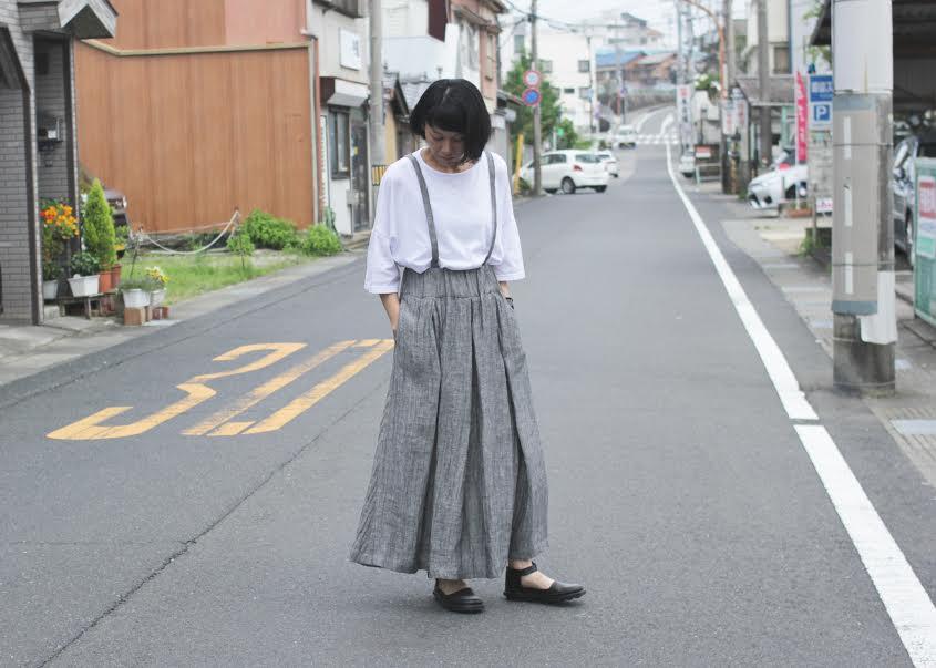 梅雨のスカートスタイル