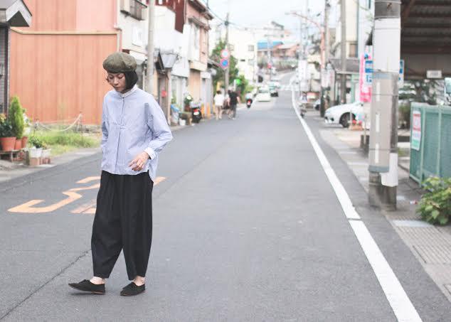 秋もさわやかにstyle+confort クレリックシャツ