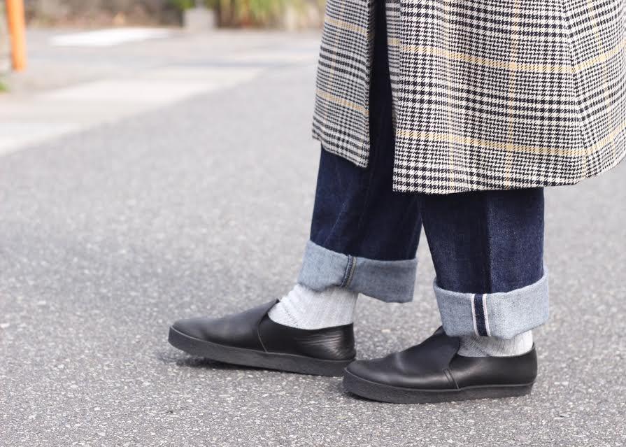 秋にぴったり!ina(イナ) フロントダブル裏起毛コート