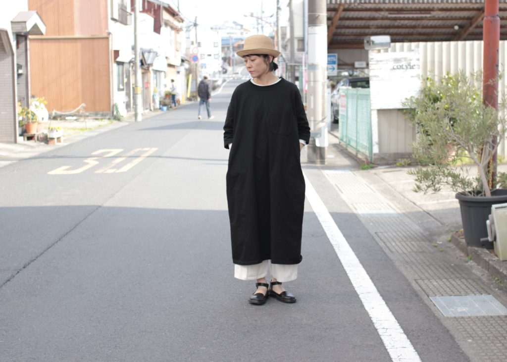 春のワンピース楽チンコーデ-Gauze/g-