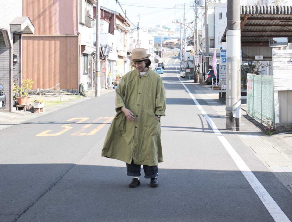 春イロ Veriecoeur Cotton Silk Coat