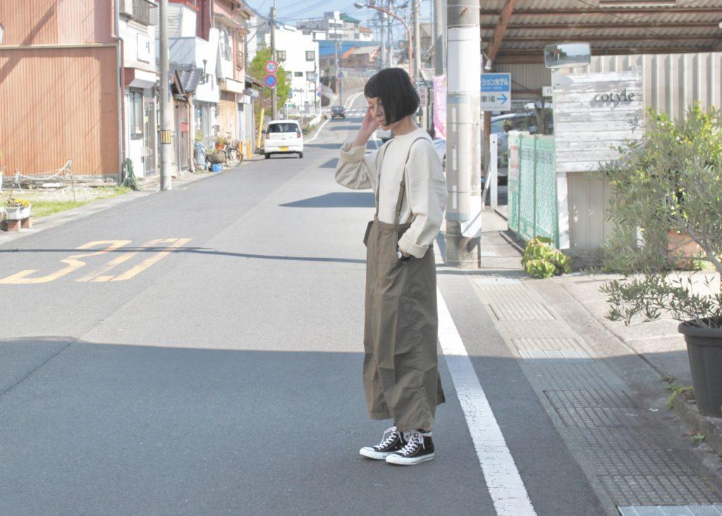 週末リラックスコーデ-unfil × kha:ki-