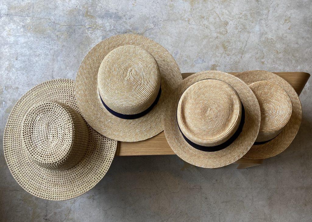 夏のおすすめストローハット! HAT HAT HAT