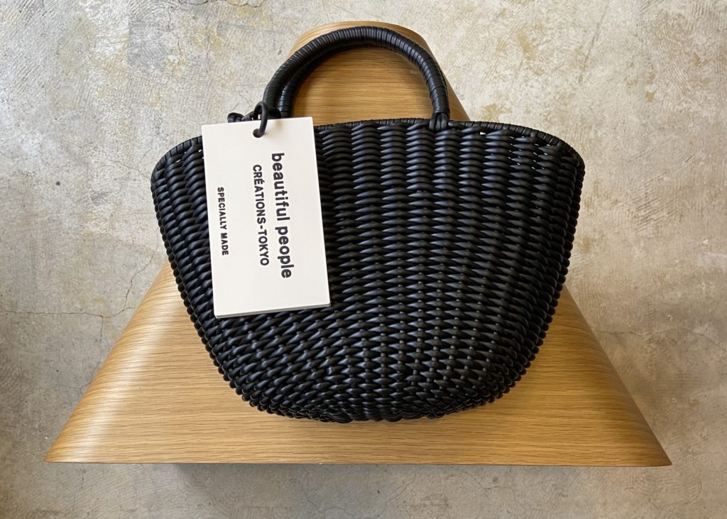 【beautiful people】 tube knitting basket
