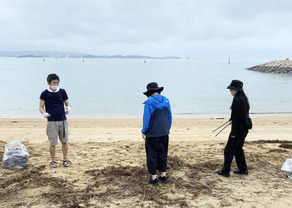 扇が浜ビーチクリーンに参加してきました