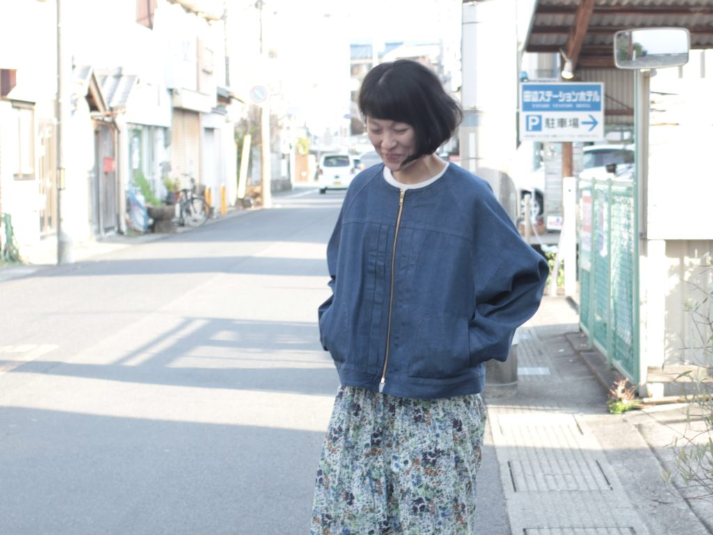 春コーデ!sisisi_denim &MidiUmi_flower
