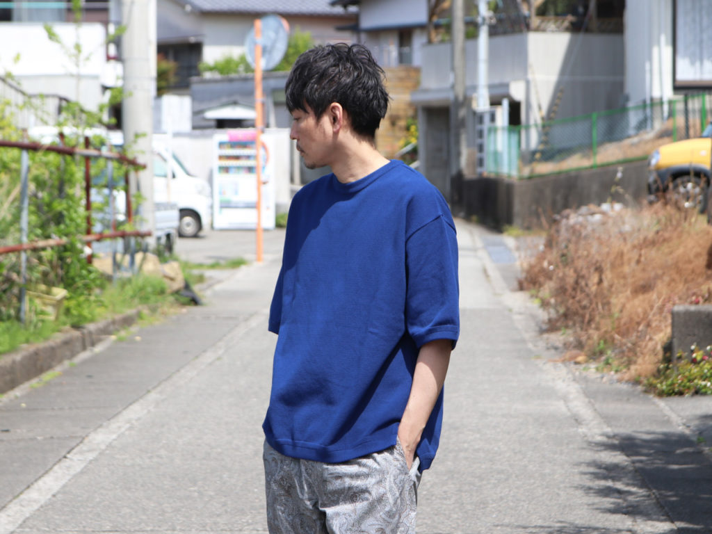 crepuscule (クレプスキュール) Moss stitch S/S