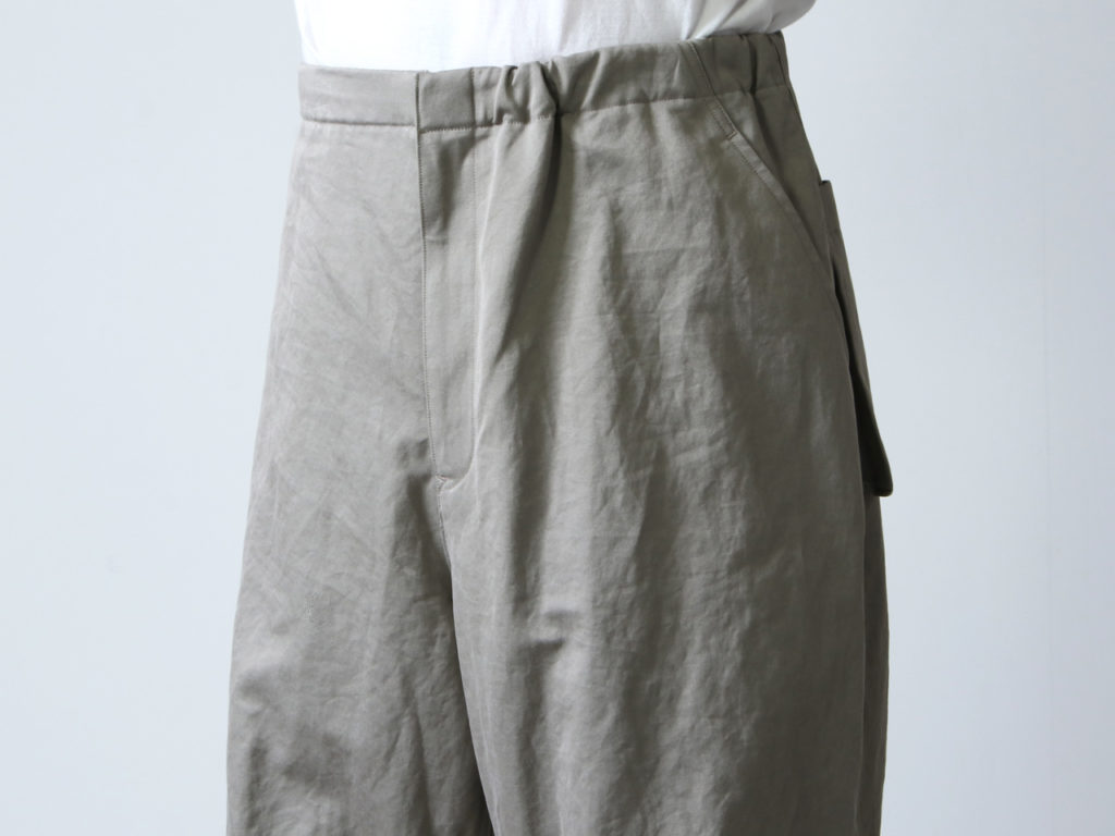 WELLDER (ウェルダー) Wide Over Trousers